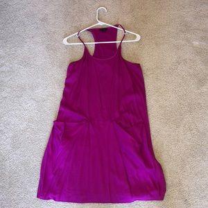 Pink Silk Theory Dress